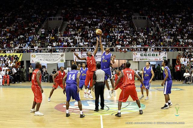 Championnat de Madagascar, Finale Basket Hommes