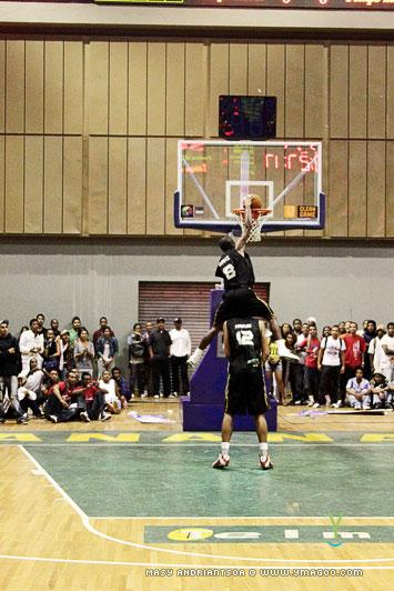 Concours de dunk Allstar Gasy
